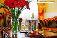 chambre et cadeaux hotel dvorak république tchèque