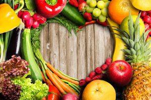 régimes végétariens légumes sains