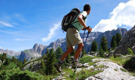 randonnée, montagne, nature
