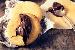 Biscuits pralinés aux noix