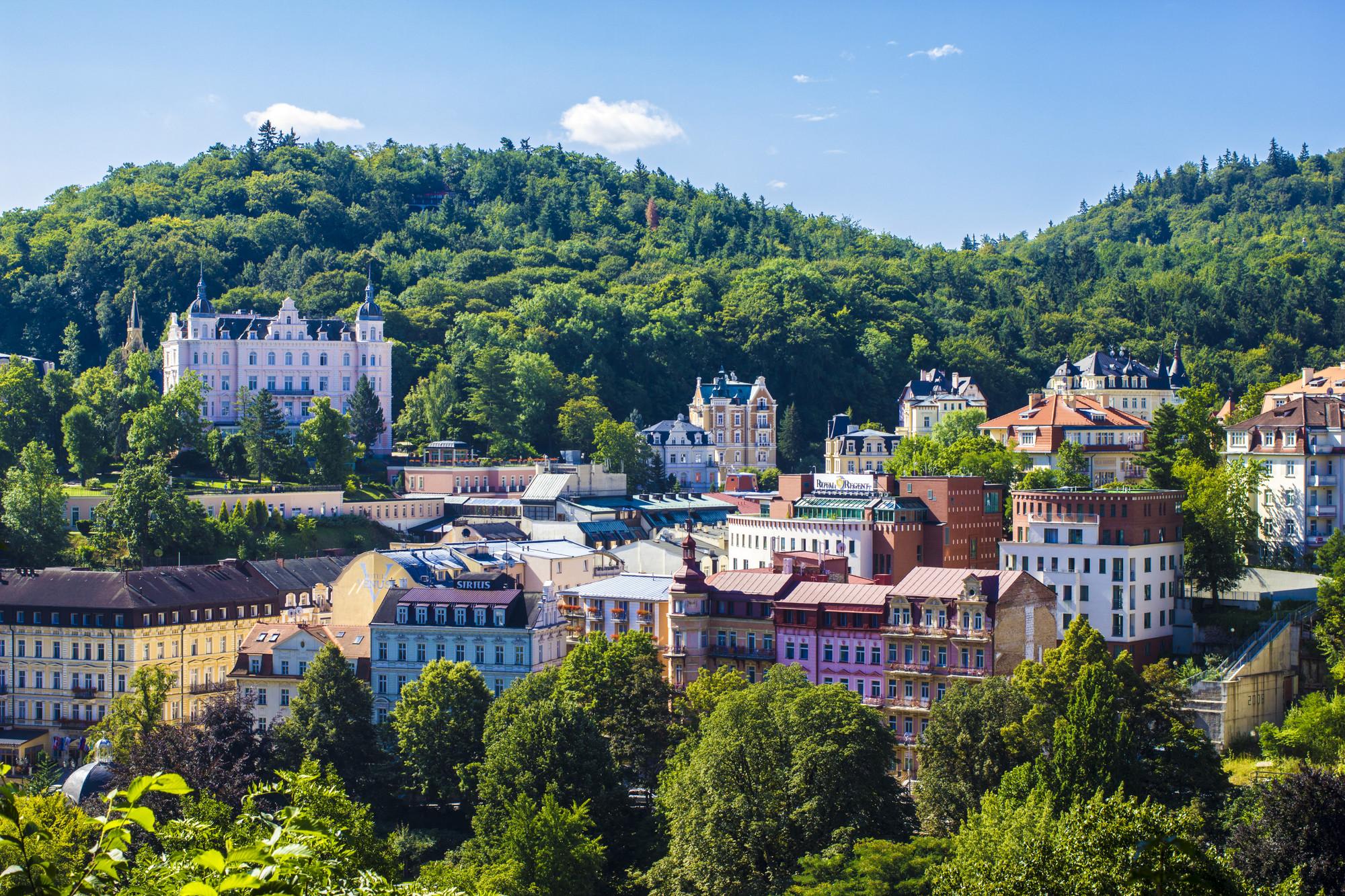 Karlovy Vary : station thermale pour le bien-être