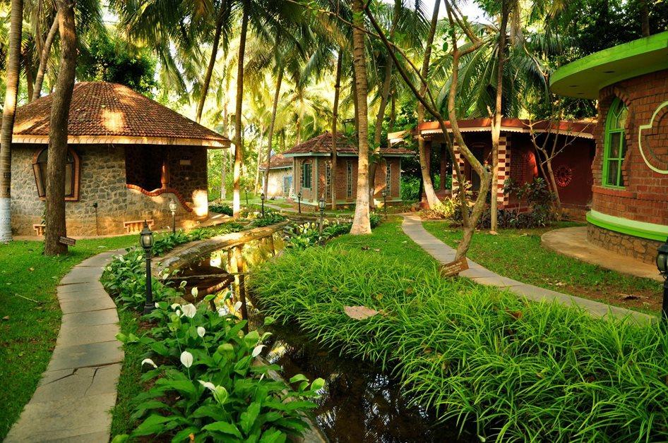 Hôtel Ayurveda Kairali - Le Village dédié à la guérison avurvédique - Kodumbu / Palakkad - Kerala, Inde