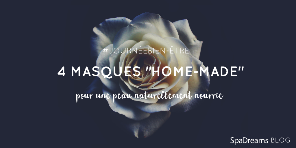 rose blanche masques maison